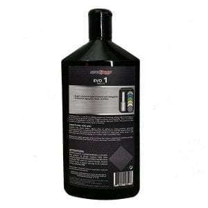 AutoSmart Evo 1 Fine Cutting Compound back label