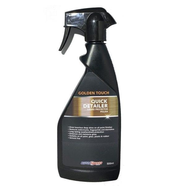 AutoSmart Golden Touch Quick Detailer spray on car polish 500ml