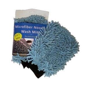 AutoSmart 2-In-1 Microfibre Noodle Wash Mitt