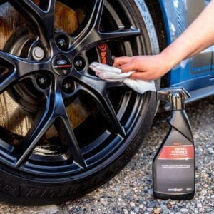 AutoSmart Red 7 Wheel cleaner safe on painted wheels