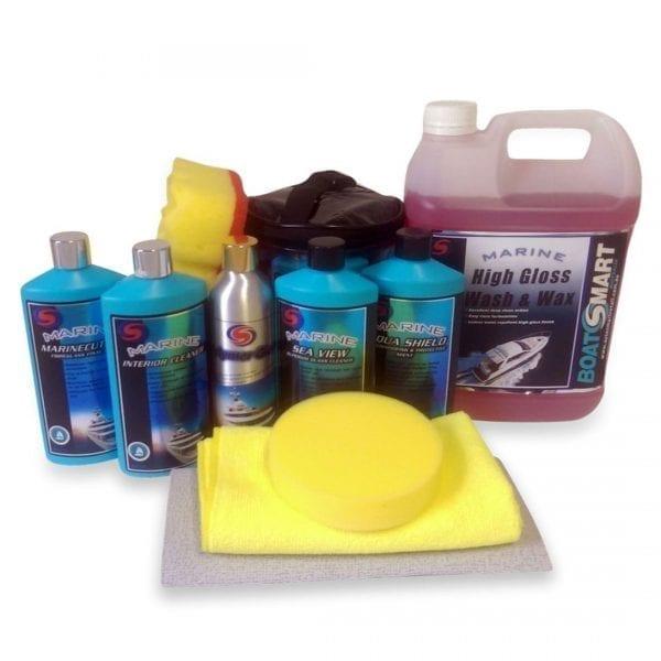Mega Sports Boat Cleaning Kit 10pc