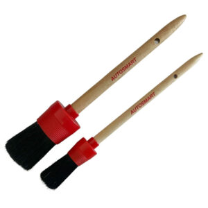 Hog Hair car detailing brushes for car wheels nuts and engine bays
